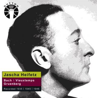 Jascha Heifetz plays violin