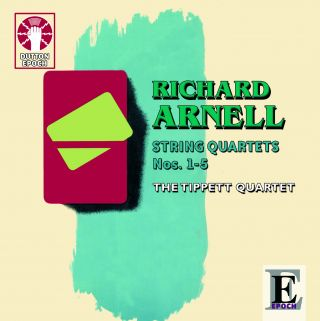 Richard Arnell String Quartets Nos. 1-5