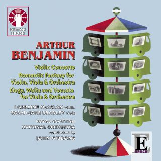 Arthur Benjamin, music for violin, viola & orchestra