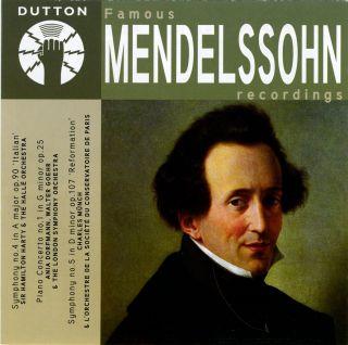 Famous Mendelssohn Recordings