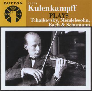 Georg Kulenkampff plays Tchaikovsky, Mendelssohn, Bach & Schumann