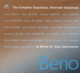 Complete Sequenzas and Works for Solo Instruments