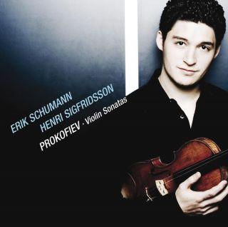 PROKOFIEV, Sonatas for violin & piano Nos 1 & 2; March; The Mask; Waltz