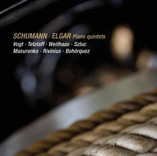 R. Schumann & E. Elgar: Piano Quintets