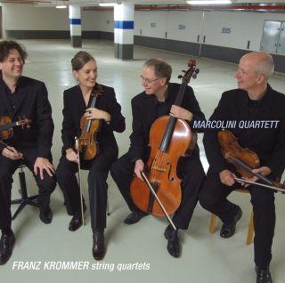 Franz Krommer, String quartets op. 74 No 3; op. 103 No 3; op. 19 No 2