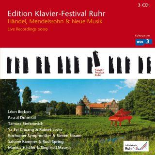 Handel, Mendelssohn & New Piano Music (Edition Ruhr Piano Festival Vol. 23)