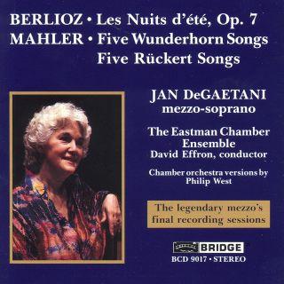 JAN DEGAETANI SINGS BERLIOZ, MAHLER