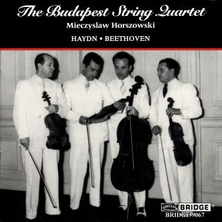 THE BUDAPEST STRING QUARTET