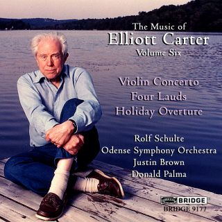 Violin Concerto/Four Lauds/Holiday Overture