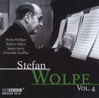 Stefan Wolpe, Vol.4