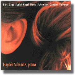 New piano works from Europe