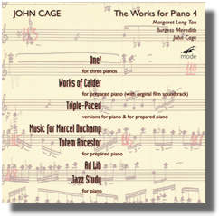 Works for Prepared Piano 4