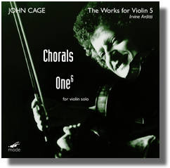 WORKS FOR VIOLIN 5: ONE / CHORALS