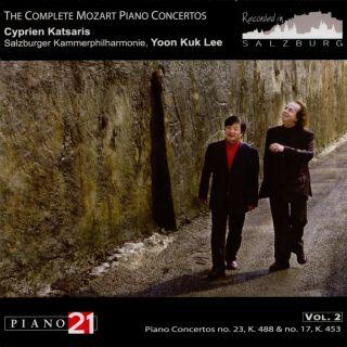 The Complete Mozart Piano Concertos Vol. 2