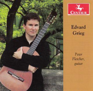 Grieg: guitarworks by Peter Fletcher