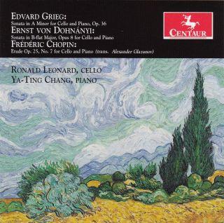 Grieg - Dohnanyi - Chopin: Sonata and Etude