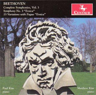 "Complete Symphonies Volume 3 / Symphony No. 3 / 15 Variations ""Eroica"""