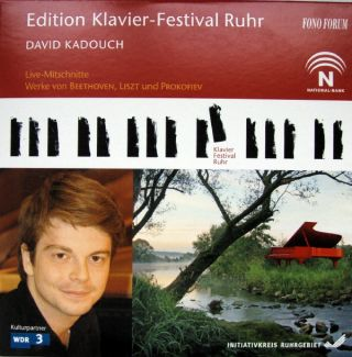 David Kadouch - Edition Klavier-Festival Ruhr