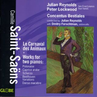 Les Carnaval des Animeaux/Works for two pianos