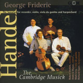 George Frideric The Sonatas for recorder, violin, viola da gamba and harpsichord