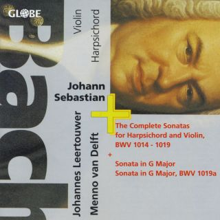 Bach The Complete Sonatas for Harpsichord and Violion