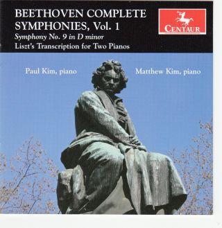 Symphony No. 9 (transcr. For 2 Pianos By Liszt)