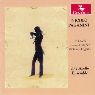 Nicolo Paganini - Tre Duetti Concertanti Per Violino E Fagotto