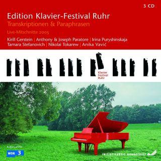 Transcriptions & Paraphrases (Edition Ruhr Piano Festival Vol 9)