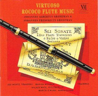 Virtuoos Rococo Flauta Music