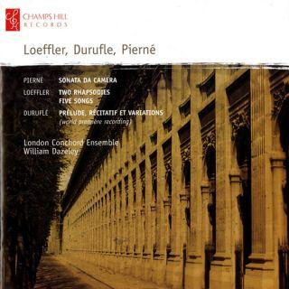 Loeffler, Durufle, Pierné
