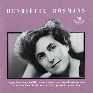 Henrïette Bosmans 1895 - 1952