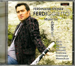Ferdigietto - Music For Clarinet