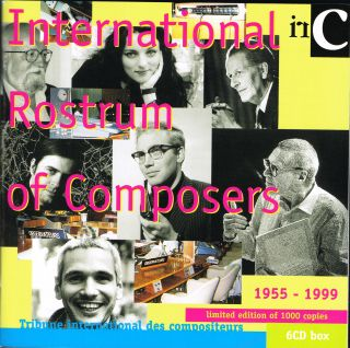 International Rostrum of Composers 1955-1999