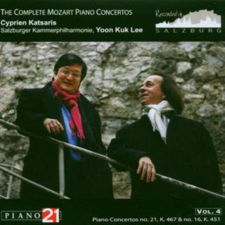 The Complete Mozart Piano Concertos