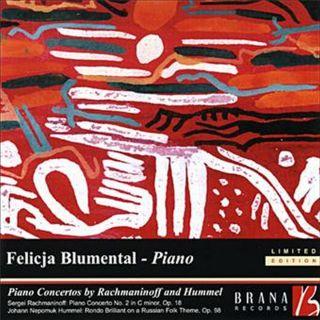 Piano Concertos by Rachmaninoff & Hummel