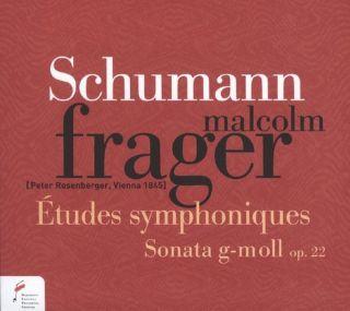 Etudes Symphoniques op.13/Sonata in G min op.22
