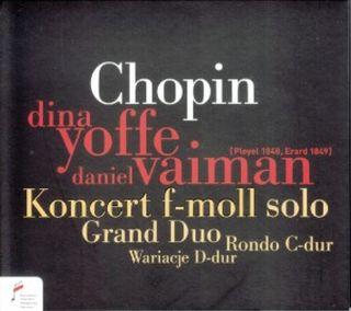 Koncert f-moll solo/Grand Duo/Rondo C-dur/...
