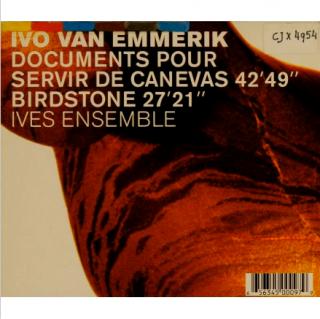 Documents Pour Servir de Canevas / Birdstone