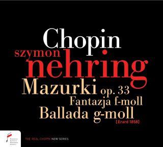 Fantasy in F minor, Op. 49, Barcarolle, Op. 60, Ballade in G minor, Op. 23