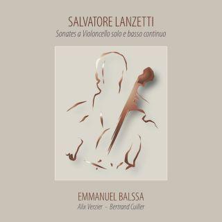 Lanzetti: Sonates a Violoncello solo e basso continuo