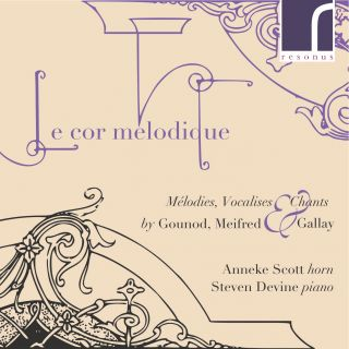 Le cor mélodique - Mélodies, Vocalises & Chants by Gounod, Meifred & Gallay