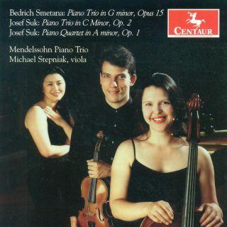 Piano Trio, Op. 15 / Suk, J. Piano Trio, Op. 2 / Piano Quartet, Op. 1