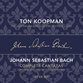 Complete Bach Cantatas Vol. 1-22 (box set)