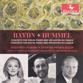 Haydn and Hummel Concertos for Violin, Piano and Orchestra