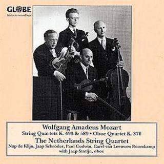 String Quartets and Oboe Quartet