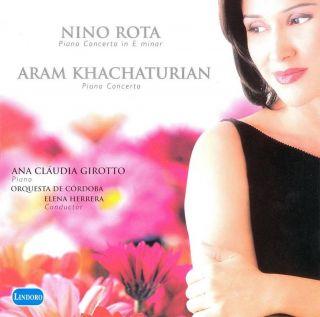 Nino Rota:  Piano Concerto  Aram Khachaturian: piano Concerto