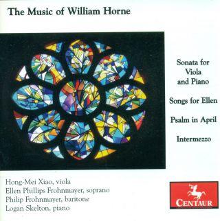 The Music Of William Horne