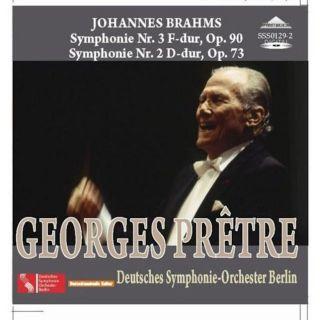 Brahms: Symphony No. 2 and 3 Op. 90, Op. 73