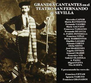 Grandes cantantes en el Teatro San Fernando