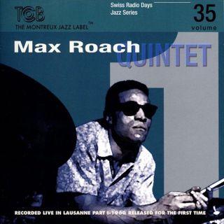 Swiss Radio Days Vol. 35 - Max Roach Quintet - Jazz Series